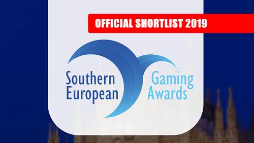 SEG Awards (Southern European Gaming Awards) 2019 Milan - Official shortlist announced