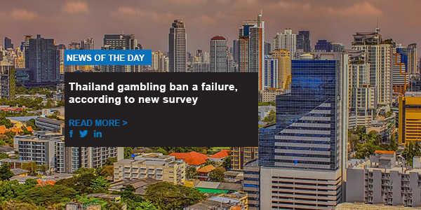 Thailand gambling ban a failure, according to new survey