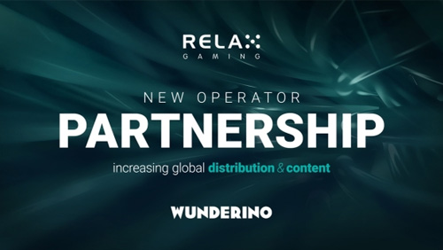 Wunderino to go live with Relax Gaming's slot portfolio