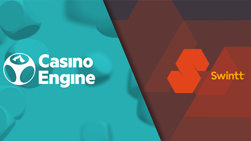 CasinoEngine to integrate Swintt's gaming content