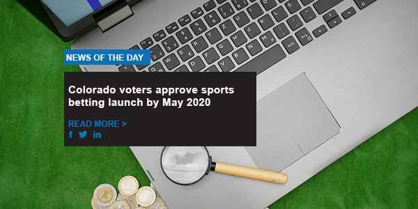 Colorado voters approve sports betting launch by May 2020