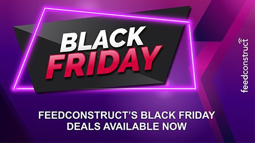 FeedConstruct's Black Friday deals available now