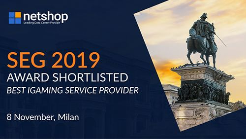 NetShop Internet Services – Leading Data Center Provider announced as General Sponsor at European Gaming Congress 2019 Milan