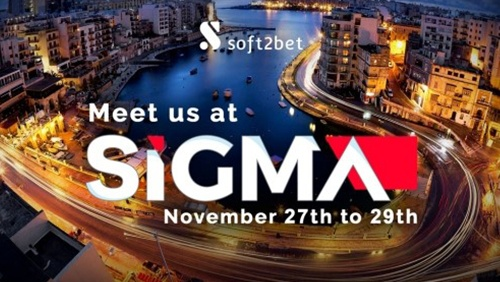 Soft2Bet to showcase new online casino Nomini at SiGMA