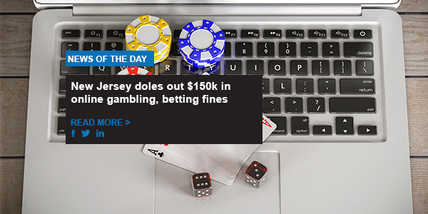 New Jersey doles out $150k in online gambling, betting fines