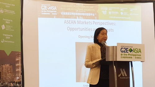 PAGCOR boss promises to have POGOs 97% cleaned up by 2020 at G2E Asia