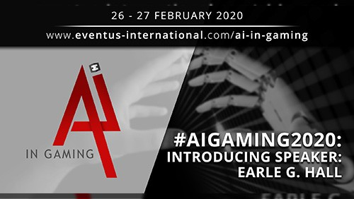 AI In Gaming 2020 speaker interview: Earle G. Hall, CEO AXES.ai / GSA Blockchain
