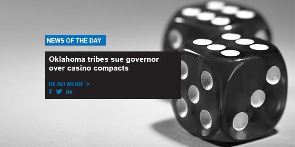 Oklahoma tribes sue governor over casino compacts