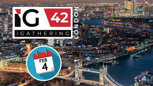 SiGMA's London iGathering to kick off 2020