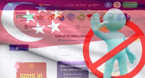 Singapore bans 'mystery box' site Drakemall after influencer video