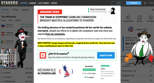 stakers-uk-gambling-commission-license-suspension-petition