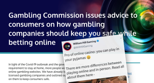 uk-gambling-commission-william-hill-coronavirus-tweet-fail