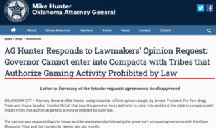 oklahoma-attorney-general-governor-tribal-gaming-compacts-illegal