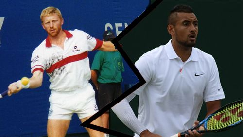 Kyrgios hits back at Becker's 'rat' accusations over Zverev blast