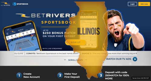 betrivers-illinois-online-sports-betting-launch
