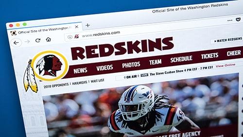 Washington Football Team reveals new helmet without logo