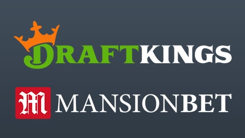 Logos of DraftKing and MansionBet