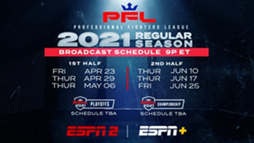 Professional-Fighters-League-and-ESPN-unveil-2021-regular-season-schedule-with-opener-on-April-23