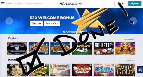 Online Lottery Alberta