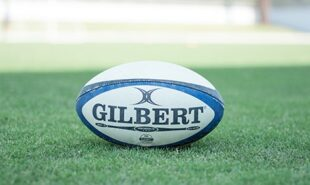 Photo of a Rugby ball
