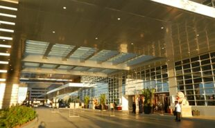 Entrance of Solaire Hotel and Casino