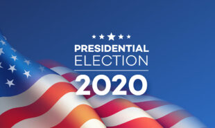 presidential elections 2020 concept