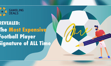 Gambling Deal's poster of the list of most expensive football autographs