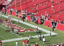 The Buccaneers stadium