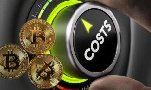 Bitcoin operation cost