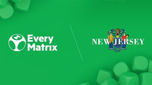 EveryMatrix and New Jersey logo
