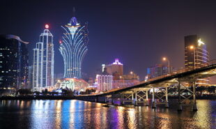 Night view of Macau