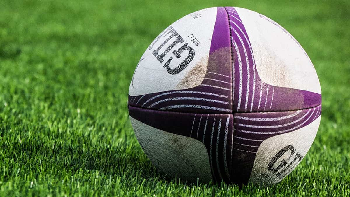 Rugby sports ball
