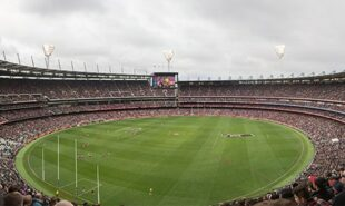 Panoramic view of Melbourne Cricket Ground