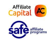Logos of Affiliate Capital and Safe Affiliate Program