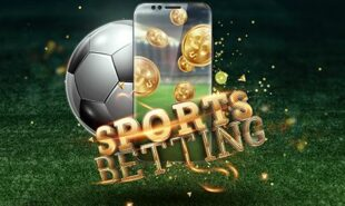 mobile sports gambling concept