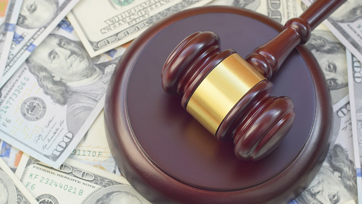 Money laundering lawsuit