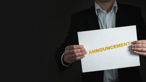 Announcement for gambling industry and partnership