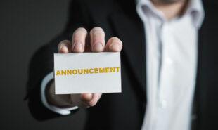 Slot announcement