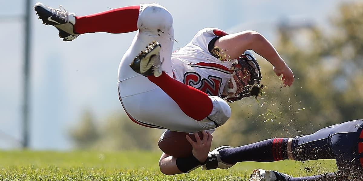 Football, American Football, Running Back, Tackle