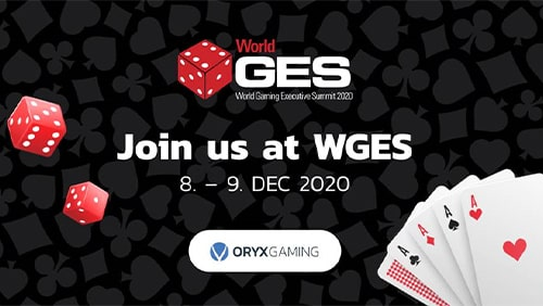 ORYX Gaming sponsor WGES