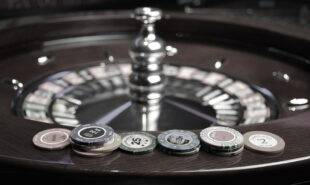 Roulette and casino chips