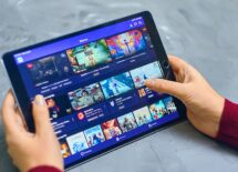 Twitch service video streaming play themes on ipad
