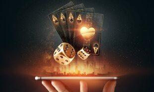 Internet gambling concept