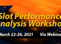 """Poster of the """"Slot Performance Analysis Workshop"""""""