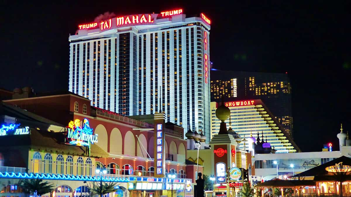 Atlantic City hotels and casinos