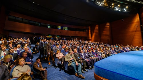 Audience in conference