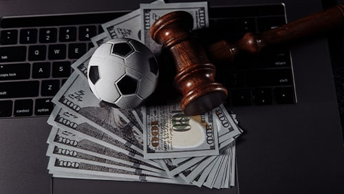 Sports betting and law