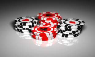 poker-chips-on-white-table