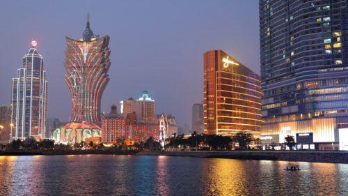 Macau City skyline