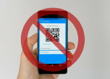Payment app with prohibit sign